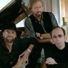 Bee Gees, Barry, Mo & Robin.