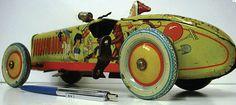 tin toys antique | ANTIQUE TIN TOY CARS | ANTIQUES CENTER