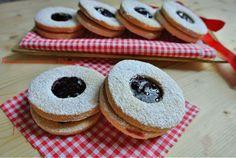 Biscotti+di+frolla+con+marmellata