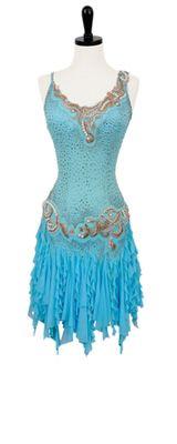 Earth Angel | Rhythm & Latin Dresses | Encore Ballroom Couture