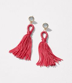 $34.50 Make outfits pop with these tassel earrings