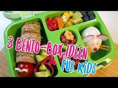 3 tolle Bento Box Ideen für Kids | Frühstück und Snacks für Kinder für Kita oder Schule - YouTube