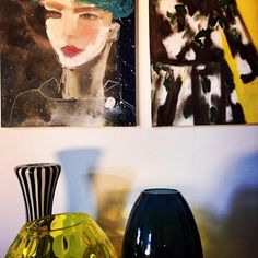 Paintings by artist Cordula Opitz.