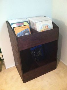 I Built A Vinyl Record Shelf! - JohnVantine.com