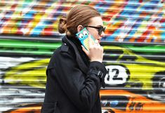 Owl mobile phone case -= tommy ton shoots the street style scene at fashion week via style.com 02/2012