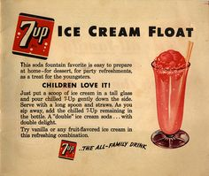 The ice cream soda (a.k.a the ice cream float) was invented in Philadelphia in the late 19th century by Robert Green. Mr. Green operated a soda shop in Philly and used carbonated water, syrup and cream to make his tasty treats. Legend has it, Green ran out of cream on day and instead used ice cream
