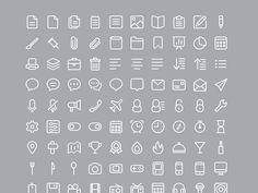 220 free PSD icons