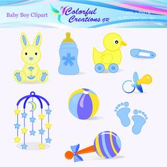 Baby Boy Clipart For Personal And Commercial Use
