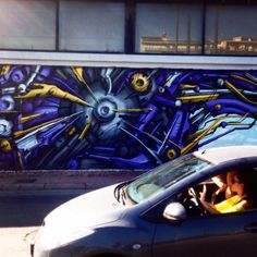 #Graffiti, #reflection and #speed. Summer is in the city! janholmberg.weebly.com