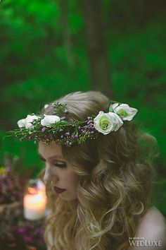 {Beautiful Fresh Floral Halo}