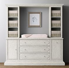 Bellina Changing Table Wall