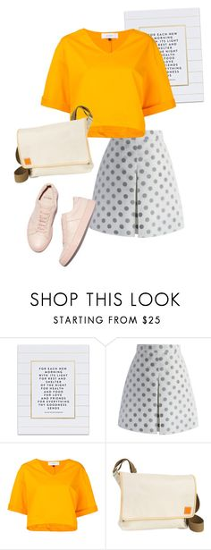 """bag"" by masayuki4499 ❤ liked on Polyvore featuring SS Print Shop, Chicwish, Le Ciel Bleu and Clava"