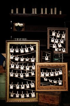 place card display   Picture Frame Place Card Display 275x412 Virginia Wedding Reception ...