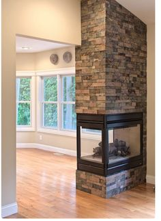 12 interesting peninsula gas fireplace photo idea just the stone ryans favorite peninsula wall 3 sided fireplace this one is clean simple teraionfo