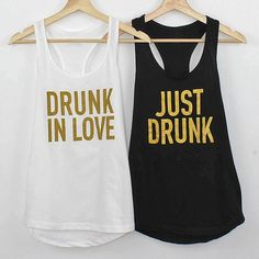 Bride tribes always look better in cute bachelorette party shirts! Snag some of our super soft tanks that the whole I Do Crew will love. Bachelorette Party Themes, Bachelorette Party Shirts, Bachelorette Party Favors, Bachelorette Weekend, Bridal Party Shirts, Drunk In Love, Maid Of Honor, Mikasa, Metallic Gold