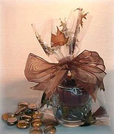 favor bags from Surroundings.com Centerpiece Decorations, Table Centerpieces, Favor Bags, Party Favors, Fall, Tables, Community, Group, Awesome