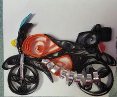 Quilling - motorcycle