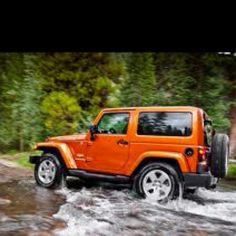 Normally I like small fast cars but Jeeps are necessary and mine will be ORANGE!