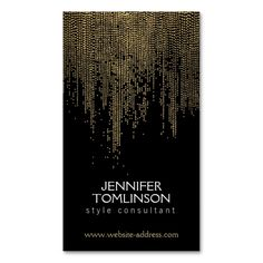 Elegant Golden Dot Pattern on Black Business Card Template. I love this design! It is available for customization or ready to buy as is. All you need is to add your business info to this template then place the order. It will ship within 24 hours. Just click the image to make your own!