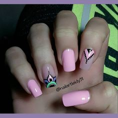 Perfect Nails, Gorgeous Nails, Love Nails, Pretty Nails, Fun Nails, New Nail Art, Easy Nail Art, Cool Nail Art, Henna Nails