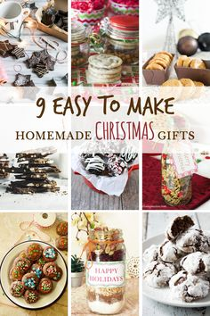 9 Easy to make Homemade Christmas GiftsDecember 18, 2015 By Ilona 22 Comments