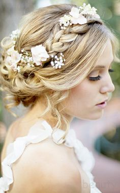 Beautiful wedding hair and makeup hairstyle ideas hairstyles inspiration fashion bride | Stories by Joseph Radhik