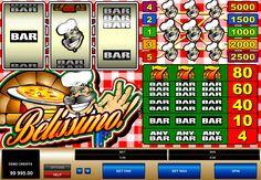 Bellissimo on klaasinen video kolikkopelit netissä, mutta tärkein ero tavallista 3 kiekon, 1 rivi klassinen lähtö on, että tämä kasino peli on saanut 5 pelilinjaa. Belissimo kolikkopeli rahaa peli netissä teemana on italialainen ravintola. Symbolit ovat pizza, baareja ja Chef.