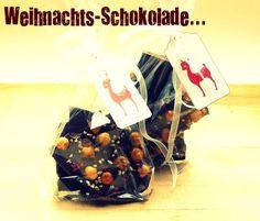 Schöner Tag noch! Food-Blog mit leckeren Rezepten für jeden Tag: Zum Verschenken: Selbstgemachte Weihnachtsschokola...