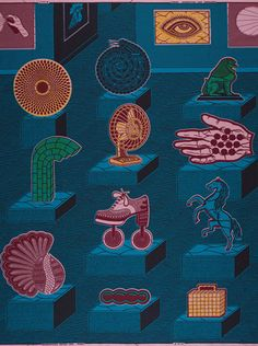 vlisco wax fabric art_ icons collectons
