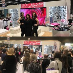 """- Salon Maison (@salonmaisoninc) on Instagram: """"Thank you everyone for coming to see us today at the Wedding Show. We will be here again tomorrow…"""""""