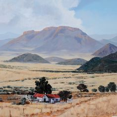 South Afrika, South African Artists, Out Of Africa, Landscape Paintings, Landscape Art, Places To Travel, Landscape Photography, Beautiful Places, Scenery
