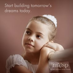 Whether your son or daughter is getting ready for pre-school or high school, the time to figure out your options and make a plan is now. Find out how MESP can be a part of your college savings strategy at MIsaves.com