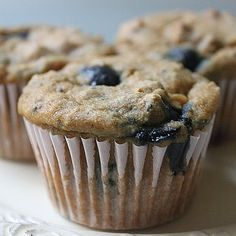 Gluten-Free Breakfast: Blueberry Chia Seed Muffins