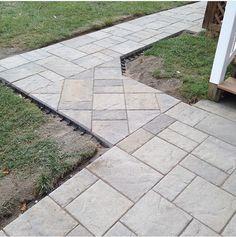 Paver sidewalk   Kingston NY Wet Basement Solutions, Sump Pump Drainage, Paver Sidewalk, Fill Dirt, Landscape Drainage, Drainage Solutions, Erosion Control, French Drain, Crushed Stone