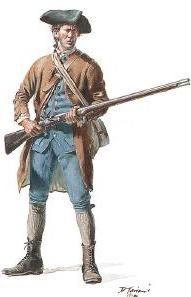 Rev War 75 © Don Troiani: Massachusetts Militia, 1775