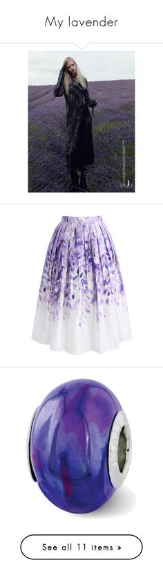 """""""My lavender"""" by solarprivacy ❤ liked on Polyvore featuring skirts, bottoms, jupe, purple, saias, calf length skirts, purple midi skirt, midi skirt, purple skirt and chicwish skirts"""