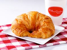 A cup of your favorite brew accompanied by our buttery, flaky #Croissants! Sounds like a great way to start the day! Plain, chocolate, almond. bit.ly/2efFnkG #whatsforbreakfast #breakfast #breakfastpastry #chocolatecroissants #almondcroissants
