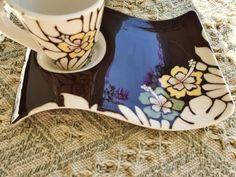 Villeroy & Boch New Wave Caffe Maya | FINN.no Fine Porcelain, Asana, New Wave, Waves, Ocean Waves, Beach Waves, Wave