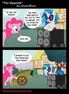 The Upgrade by *ChaoticBrony on deviantART