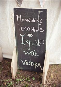 moonshine Should be neither lemonade nor infused with vodka. that is all.