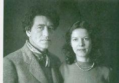 Annette and Alberto Giacometti