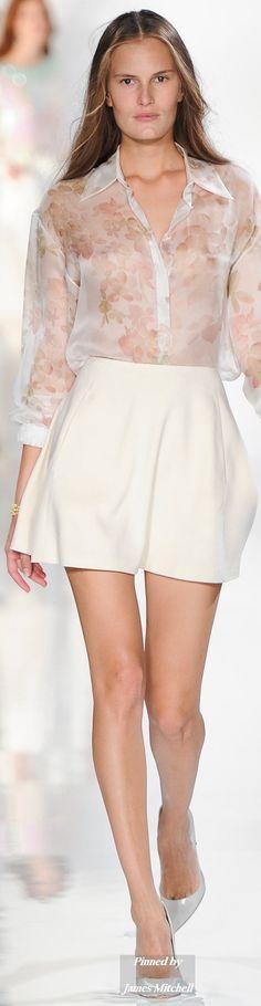 Valentin Yudashkin Collection  Spring 2015 Ready-to-Wear.             W