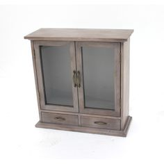 Teton Home Wood Wall Cabinet