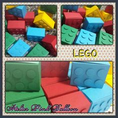 Caixa - LEGO - SCRAP FESTA