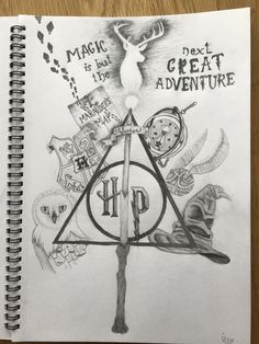 The deathly hollows and other magical item's dessin harry potter, harry potter drawings, animaux Harry Potter Sketch, Harry Potter Artwork, Harry Potter Drawings, Harry Potter Wallpaper, Harry Potter Thema, Harry Potter Quotes, Harry Potter Fan Art, Harry Potter Fandom, Harry Potter Tattoos
