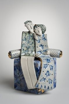 Helen Martino, unique little sculpture