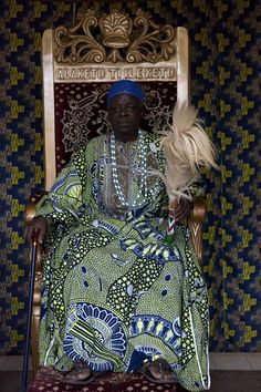 King Alaro Alade-Ife of Ketou