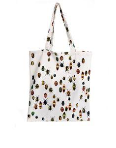 Monki Almira Bug Print Tote Bag