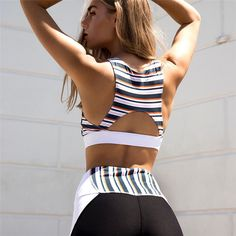 Women's Clothing Fast Deliver Laisiyi 2019 Active Tracksuit For Women Set Workout Fitness Clothing Paded Gym Slim Running Leggings+tops Set Women Sport Suit