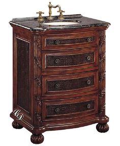 Sink Cabinet with Verdi Granite